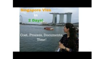 Got My Singapore Visa Just in 2 Days! Cost, Process, Time & Documents