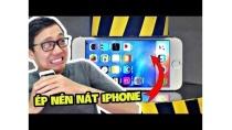 CỖ MÁY NÀY ÉP NÉN NÁT ĐIỆN THOẠI IPHONE!!! (Sơn Đù Vlog Reaction)