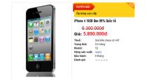 iPhone Giá Tốt: Điện thoại iPhone 4 giá rẻ nhất