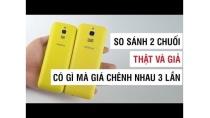 Nokia 8110 thật và giả có gì khác mà giá chênh nhau đến 3 lần? | Điện Thoại Vui