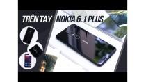 Khui hộp, trên tay Nokia 6.1 Plus: Tai thỏ, thiết kế 2 mặt kính, camera kép, sạc nhanh