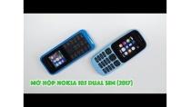 Mở hộp Nokia 105 Dual SIM (2017): hoàn thiện tốt, giá rẻ 359,000đ | Nokia 105 (2017) Unboxing