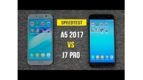Speedtest - Samsung Galaxy A5 2017 vs Galaxy J7 Pro