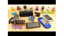 GIVE AWAY - Tặng điện thoại, máy chơi game, máy quay phim... (200.000 Subscribers)