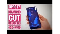 Oppo F7 Unboxing Diamond Cut Edition Unboxing 4gb/64gb