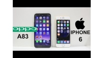 Oppo A83 Vs iPhone 6 Speed Test