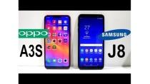 Oppo A3S Vs Galaxy J8 Speed Test