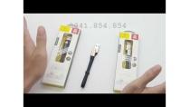 Cáp Baseus đa năng 23cm cho IOS & Android - Phụ Kiện Vàng - 0941.854.854