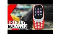 """FPT Shop - Trên tay """" cục gạch"""" huyền thoại 3310 (2017) lần đầu tiên xuất hiện tại Việt Nam"""