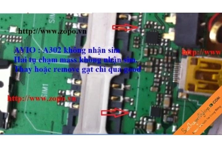 Hướng Dẫn Sửa MP4 AVIO 302 không nhận sim | Sửa Chuyên Nghiệp