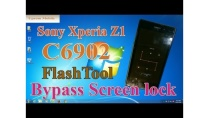 Sony Xperia Z1-C6902 screen lock pattern bypass ok by Flashtool 0.9.23.2.