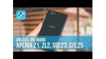 Unlock, mở mạng Xperia Z1, ZL2 Sol23 , Sol25 - Tự tay unlock máy tại Max Mobile