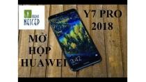 Mở hộp Huawei Y7 Pro 2018 | NesCep