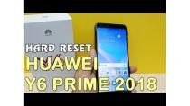 Hướng dẫn Hard Reset Huawei Y6 Prime 2018