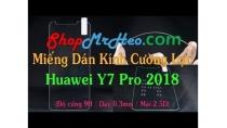 Dán Kính Cường Lực Huawei Y7 Pro 2018