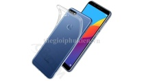 Ốp lưng silicon dẻo trong suốt Huawei Y7 Pro 2018 siêu mỏng 0.5 mm