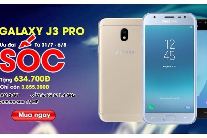 Tim Cho Mua Samsung Galaxy J3 Pro Len Ngay Nemovn De Duoc Giam