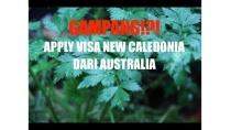 GAMPANG! APPLY VISA NEW CALEDONIA DARI AUSTRALIA (Video Mic Audio with Canon 80D)