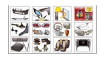 Phân phối phụ kiện ô tô - Bán phụ kiện xe ô tô chính hãng