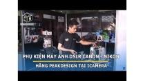 Mua phụ kiện máy ảnh DSLR Canon, Nikon chính hãng Peakdesign tại icameravn