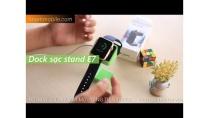 H-Channel | Trên tay Dock sạc stand E7 cho apple watch: vô cùng tiện dựng.
