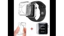 Combo Dán X-Skin 3D và Case Silicon Bảo Vệ Apple Watch