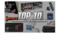 Top 10 xu hướng phụ kiện ô tô nổi bật