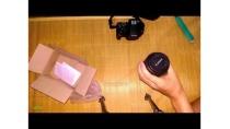Mở hộp phụ kiện máy ảnh đặt hàng tại lazada