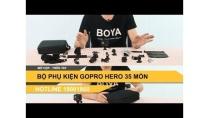 Bộ phụ kiện Gopro đầy đủ 35 món bán ở Hà Nội