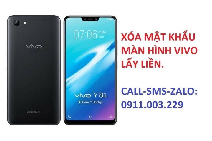 xóa mật khẩu điện thoại vivo y53