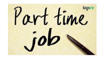 Công việc làm thêm cho sinh viên và những mặt trái - TopCV Blog