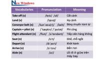 Bộ từ vựng tiếng Anh sân bay thông dụng nhất