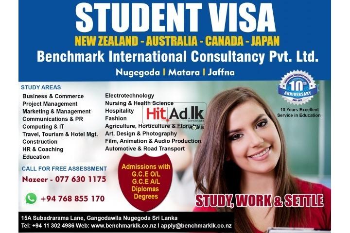 student visa new zealand from sri lanka