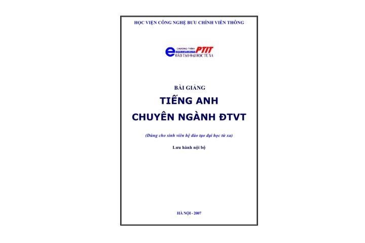 Tieng Anh Chuyen Nganh Vien Thong Ly Thuyet