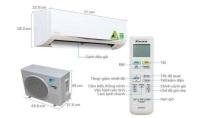 Tìm hiểu về kích thước máy lạnh 1HP, 1.5HP, 2HP