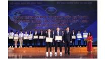 Trao giải Cuộc thi Khoa học Kỹ thuật cấp quốc gia dành cho học sinh ...