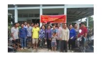 Khai giảng lớp dạy nghề trồng nấm tại xã Mỹ Phước