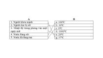 Giải VBT Khoa Học 4 Bài 55 - 56: Ôn tập: Vật chất và năng lượng ...