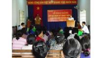 Hội Nông dân tỉnh Bình Dương: Khai giảng lớp dạy nghề trồng nấm và ...