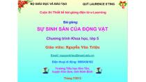 Bài 55. Sự sinh sản của động vật - Khoa học - Nguyễn Trung Triệu ...