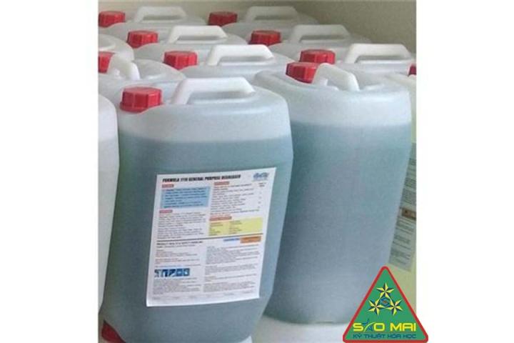 Hóa chất tẩy rửa dầu mỡ