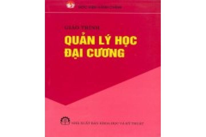 Tập bài giảng Khoa học quản lý đại cương - Trần Ngọc Liêu - TaiLieu.VN