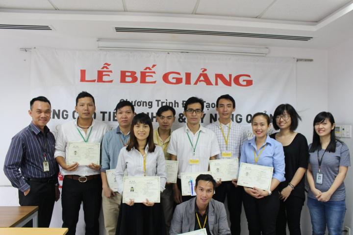 Bế giảng lớp Quản lý sản xuất khóa 21 | Esuhai Co., Ltd