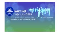 Kế hoạch Tổ chức ngày hội việc làm 2018 của Trường ĐHSP Hà Nội - Tin ...
