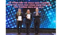 Trao Giải thưởng Sáng tạo khoa học công nghệ Việt Nam 2015 - Báo ...