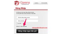 Cách lấy lại mật khẩu tài khoản Garena khi quên hoặc mất