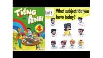 Tiếng Anh Lớp 4: UNIT 8 WHAT SUBJECTS DO YOU HAVE TO DAY - FullHD 1080P