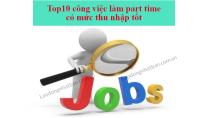 Top 10 công việc làm tiếng nhật Partime có mức thu nhập tốt