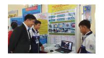 Khai mạc cuộc thi khoa học kỹ thuật dành cho học sinh THPT