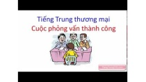 Tiếng Trung giao tiếp || Những cuộc phỏng vấn tiếng Trung thành công - Tiếng Trung 518
